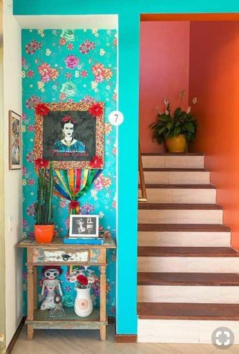 Exploit di colori in una casa messicana, da trendef.com
