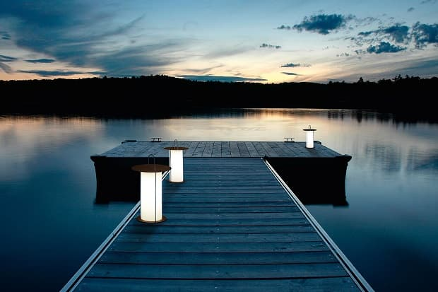 La suggestione di una lampada portatile