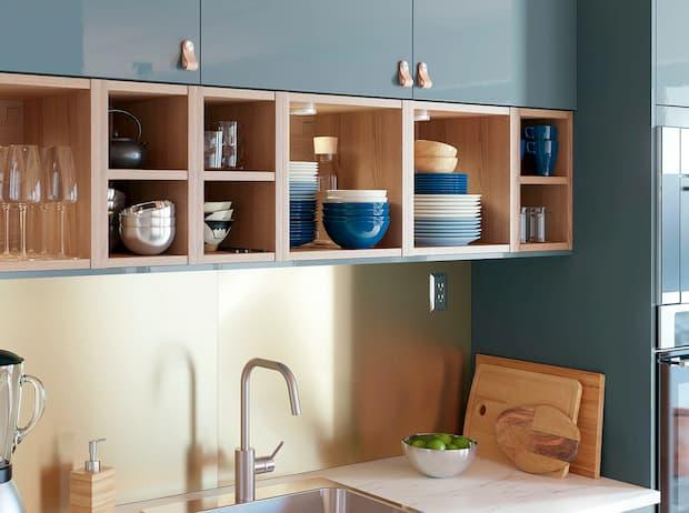 Paraschizzi cucina, IKEA, Lysekil ottone