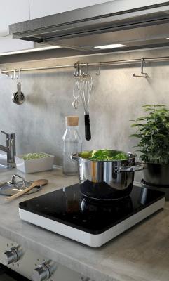 Ikea-lysekil-grigio chiaro effetto cemento