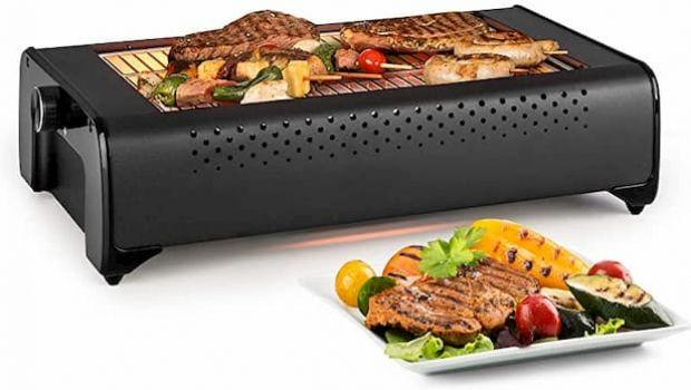 Mini barbecue che non producono fumo, per grigliate outdoor e indoor