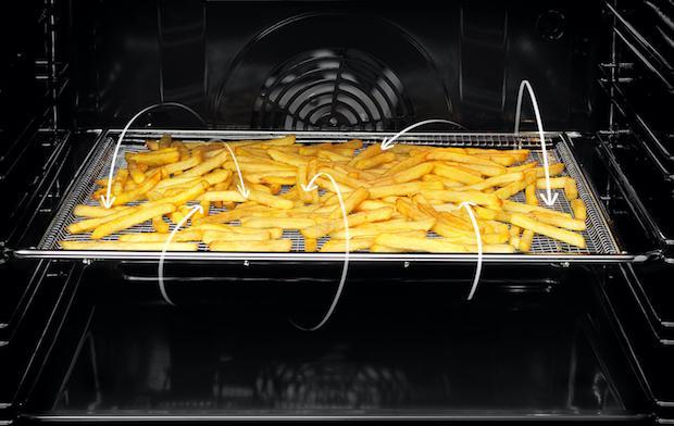Frittura salutare con il nuovo forno Elettrolux