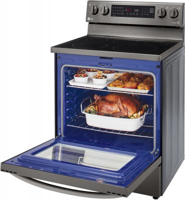 Forno LG InstaView ThinkQ™ con tecnologia Air Fry - interni