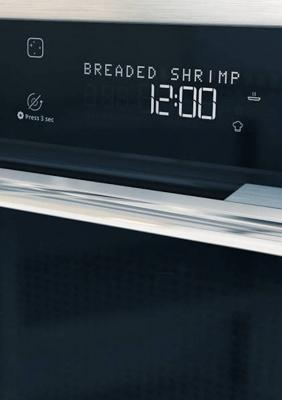 Display extralarge del forno a microonde Supreme Chef di Whirlpool