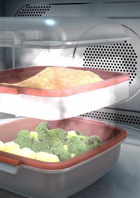 Vaporiera del forno a microonde Supreme Chef di Whirlpool