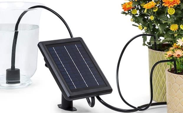 Irrigatore fuori terra Greenkeeper Solar - Foto by Blumfieldt