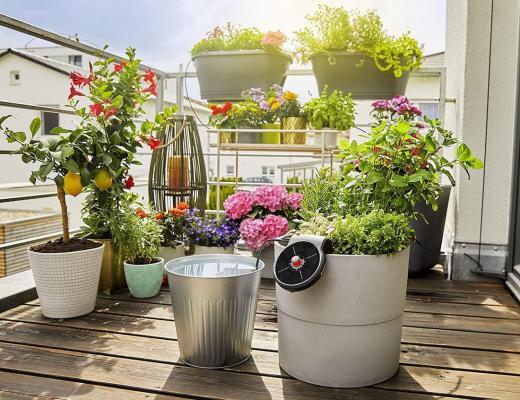Irrigazione esterna per orti e terrazzi: Aquabloom - Foto by Gardena