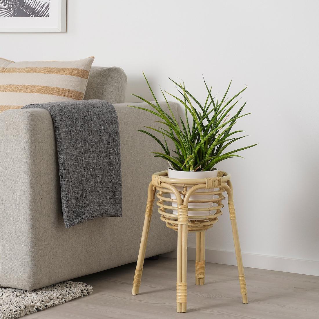 Piedistallo in rottan BUSKBO - Design e foto by Ikea