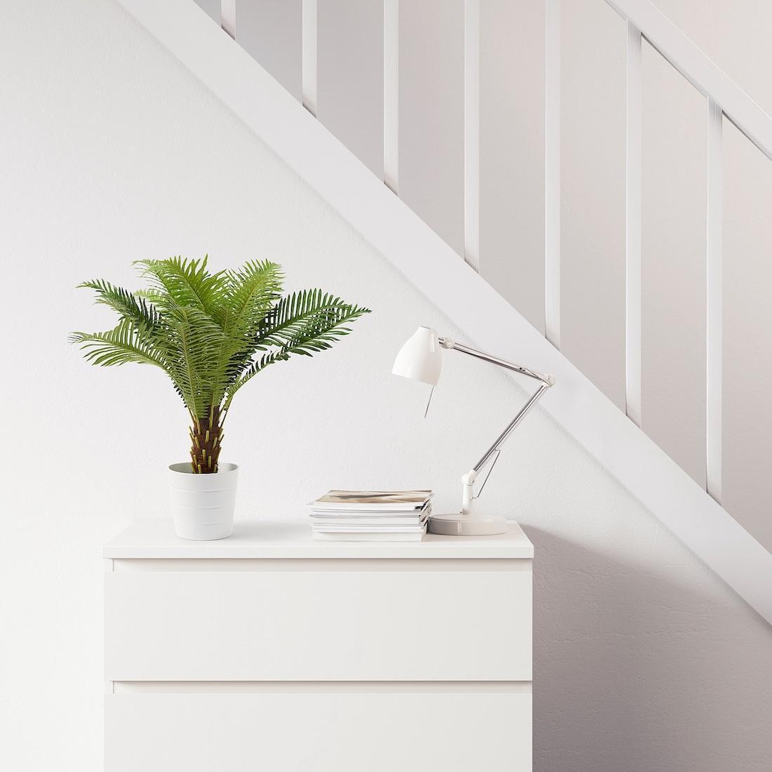 Pianta artificiale FEJKA, palma - Design e foto by Ikea