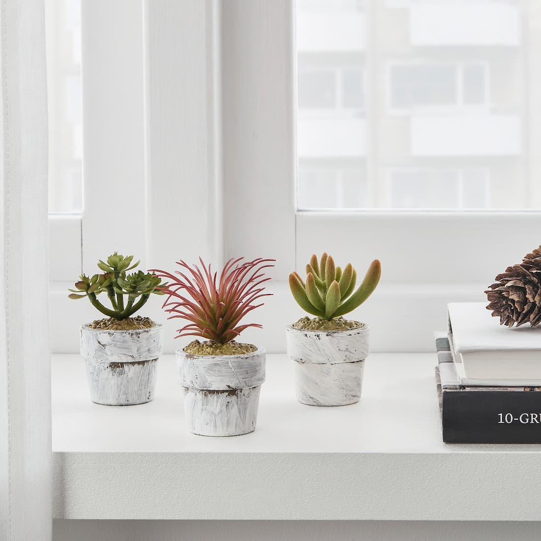 Piante artificiali FEJKA con vasi - Design e foto by Ikea