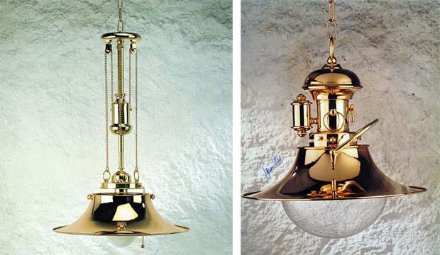 Lampade in stile nautico de Il Vascello