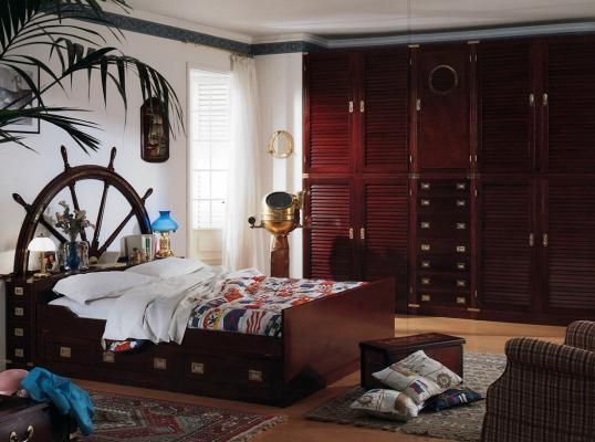 Camera da letto in stile nautico de Il Vascello