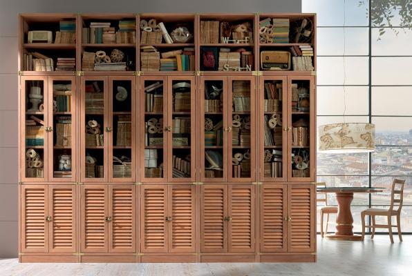 Libreria in stile nautico di Caroti