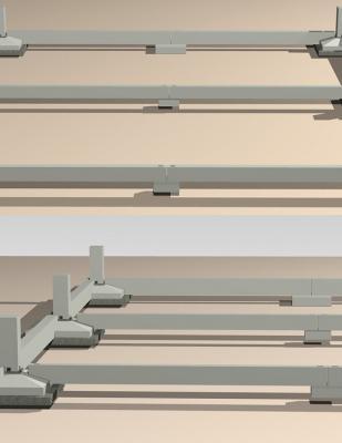 Sistema di fondazioni Atlante con plinti prefabbricati, by Seieffe Prefabbricati