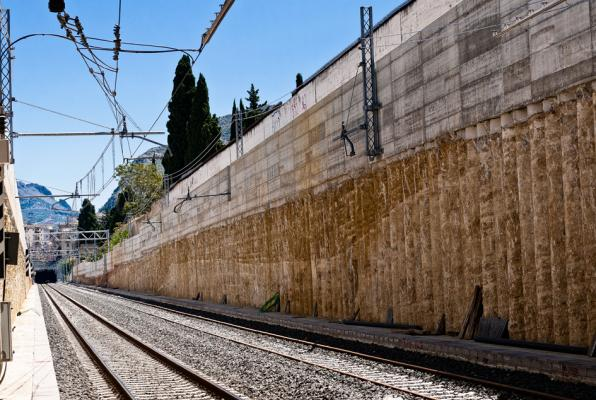 Palificate di consolidamento del terreno per infrastrutture, by Trevi