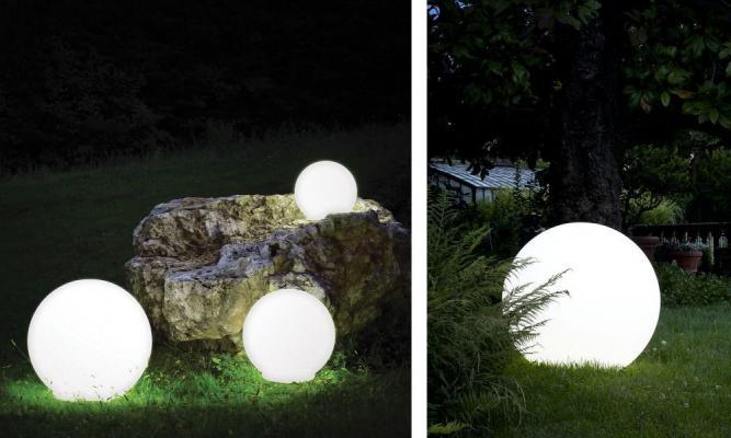 Lampada sferica da esterno Atmosfera di Serralunga