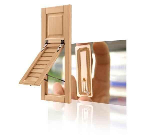 Le persiane in legno di Nardelli sono prodotte con tecnologia RFID