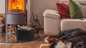 Legnaia di design per interni caldi e accoglienti
