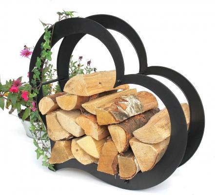 Legnaia di design per legna da ardere su Amazon