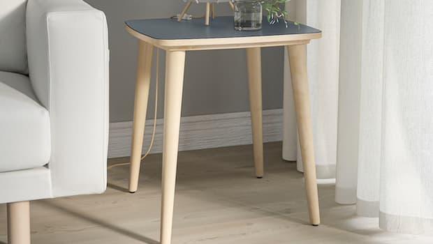 Side table Omtaenksam - Fonte foto: Ikea