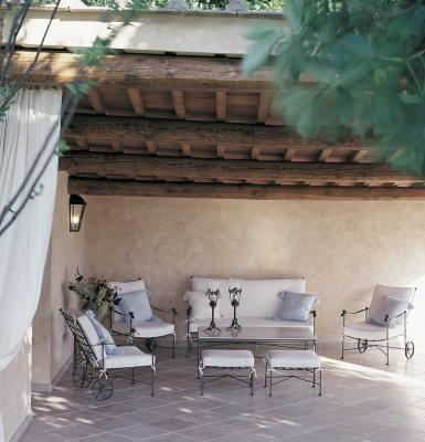 Set da giardino Intreccio - Design e foto by Officina Ciani