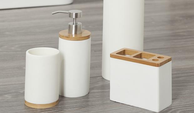 Dispenser per sapone e contenitore Grace - Foto by Westwing