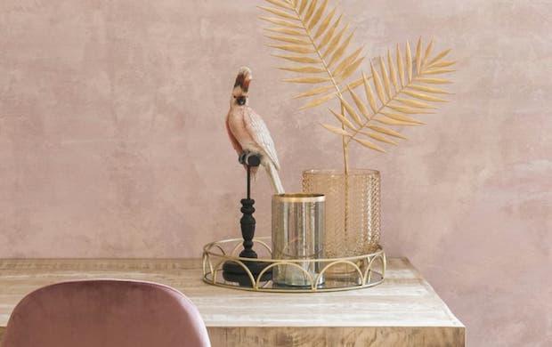 Vassoio in vetro e metallo in stile Hanoï - Foto by Maisons Du Monde
