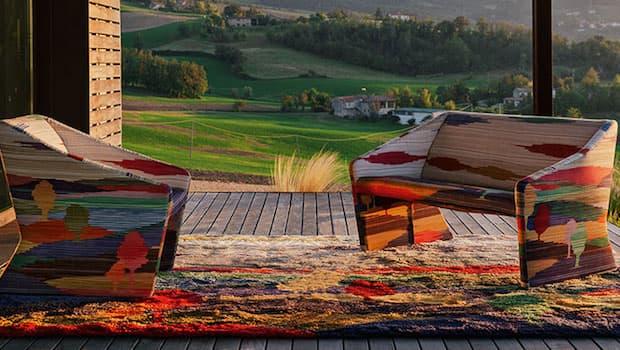 Collezione Shaded Stripes, Missoni Home - Foto by Missoni