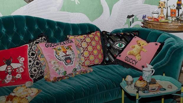 Collezione Gucci Decor - Foto by Gucci