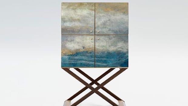 Mobile cocktail Ocean lacquer, Armani Casa - Foto: Pinterest