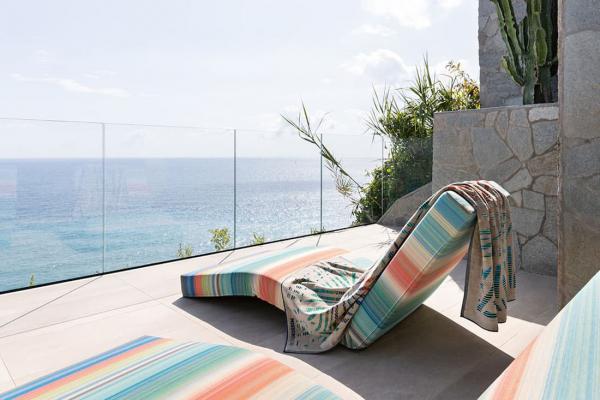 Collezione Missoni Home Magic Garden, chaise longue - Foto by Missoni