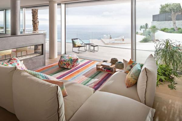 Missoni Home, Daydream: pouf, tappeto e sedute - Foto by Missoni
