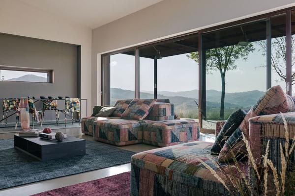 Missoni Home, Shaded Stripes: rivestimenti - Foto by Missoni