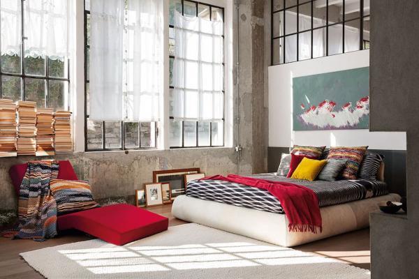 Missoni Home, Modern Iconic: arredo camera - Foto by Missoni