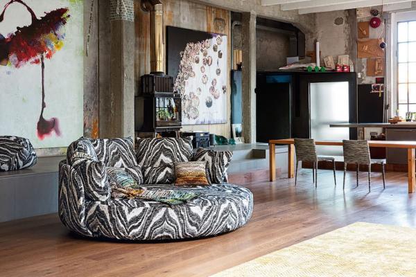 Missoni Home, Modern Iconic: sedute relax - Foto by Missoni