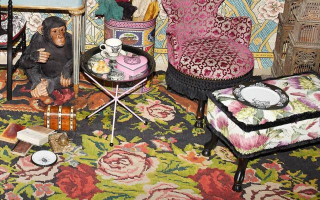 Sedie, sgabelli e accessori Gucci Decor - Foto by Gucci