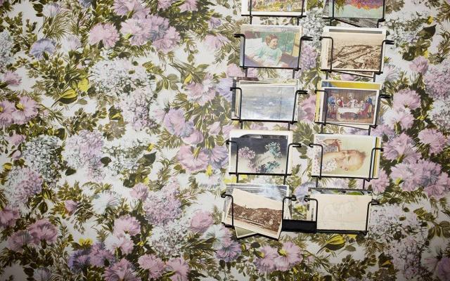 Carta da parati floreale Gucci Decor - Foto by Gucci