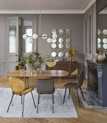 Tavolo da pranzo in legno in stile vintage, da Maisons du Monde