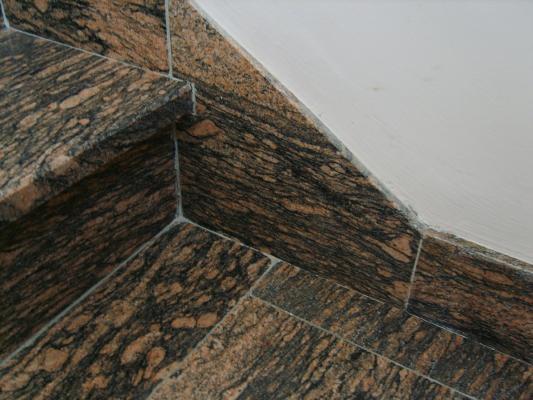 Gradini per scala interna di granito, by Marmi ZEM