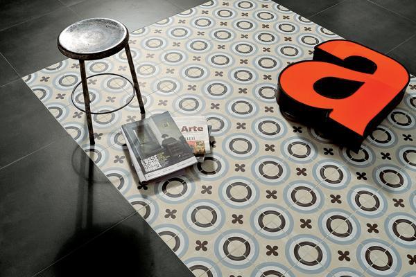 Pavimento cementine decorate, Marazzi, D_segni
