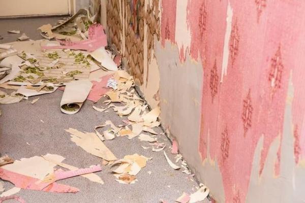 Togliere la carta da parati dalle pareti