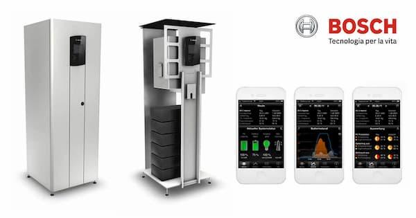 Il sistema di accumulo Bosch Hybrid