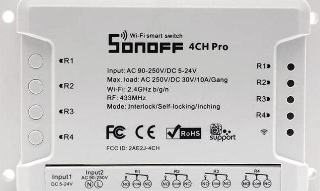 Smart Switch Wi-Fi 4CHR2