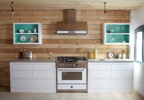 Blocco cucina Genesi 90 cm nuvola bianco - Steel