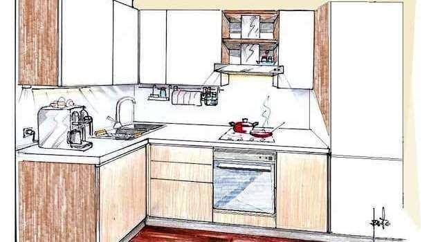 Cucine ad angolo: soluzioni su misura belle e funzionali