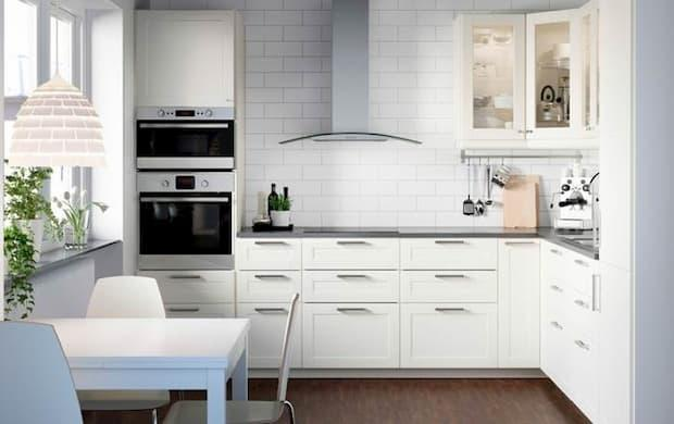 Cucina angolare sistema Metod Ikea