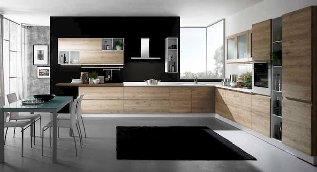 Cucina angolare - Mobilturi