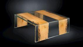 Design trasparente: incantevoli dettagli in vetro e plexiglass