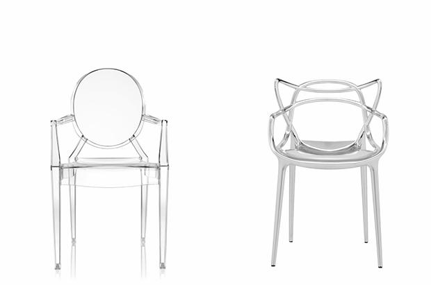 Design trasparente Luis ghost e masters by Kartell