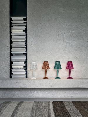 Design trasparente lampada da tavolo kabuki kartell